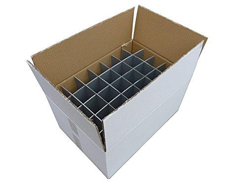 Separadores de cartón de cristal | Vasos de cartón portaesquís | Resistente - caja de cartón de