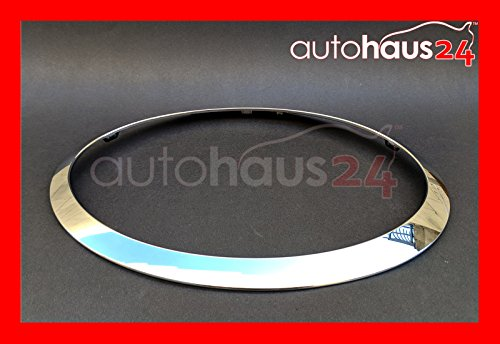MINI COOPER 2015-2021 HEADLIGHT TRIM RING CHROME DRIVER LEFT SIDE GENUINE OE