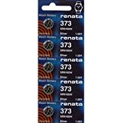 373 Watch battery - Strip of 5 Batteries