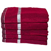 Usefull for car seat, Usefull for chair,sofa,table polyester towel, best durability fast colour full size maroon color