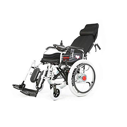 Inicio Accesorios Ancianos Discapacitados Silla de Ruedas Eléctrica Inteligente Automático Ancianos Discapacitados Scooter Viejo Plegable Ligero Semi-Acostado Vehículo de Cuatro Ruedas - Cojinete S