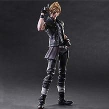 LU-Model Juega Artes Kai Final Fantasy 15: Figura De Acción Hermandad Prompto Argentum Niños Juguetes Modelo Animado Estatua Decoración 25CM