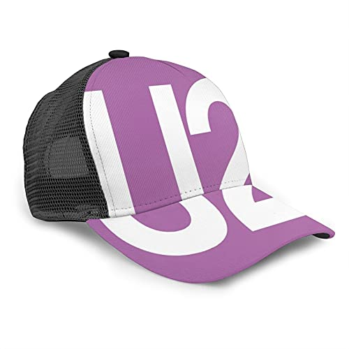 YooHome U2 Gorras de béisbol de algodón ligero coche Racing motor sombrero regalos para jugadores negro