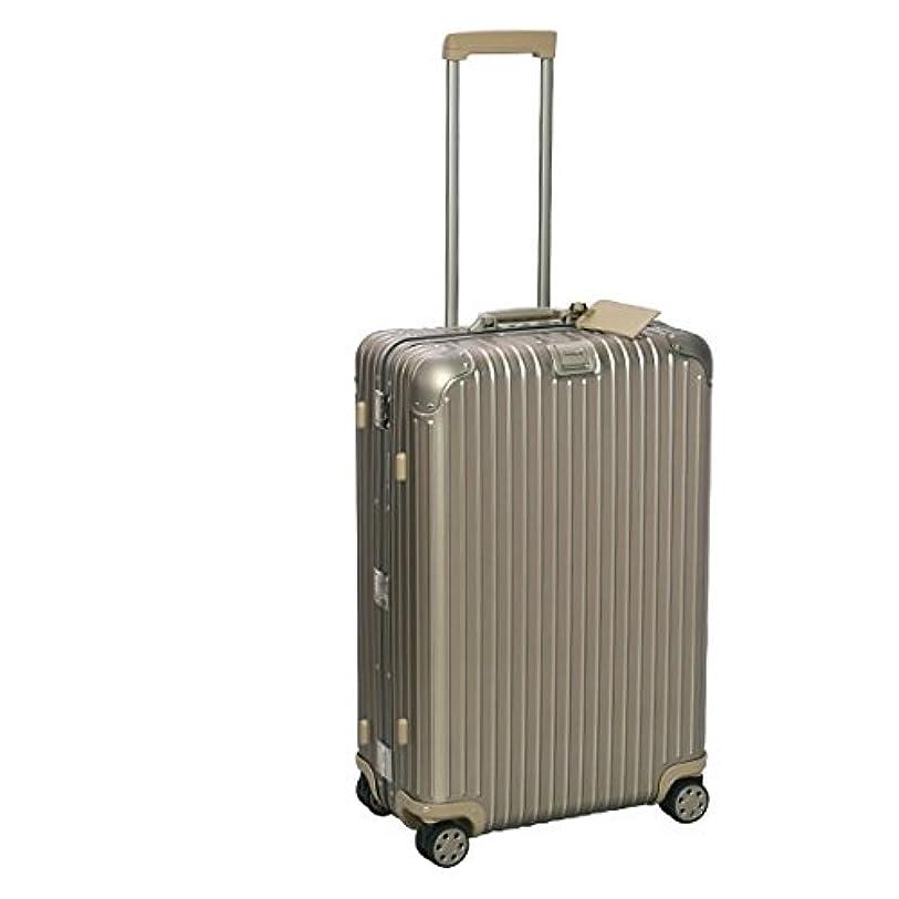 まろやかな統治可能動揺させる[リモワ] RIMOWA TSAロックモデル 924.70.03.5 E-TAG トパーズ チタニウム マルチホイール 4輪 TOPAS TITANIUMスーツケース [並行輸入品]