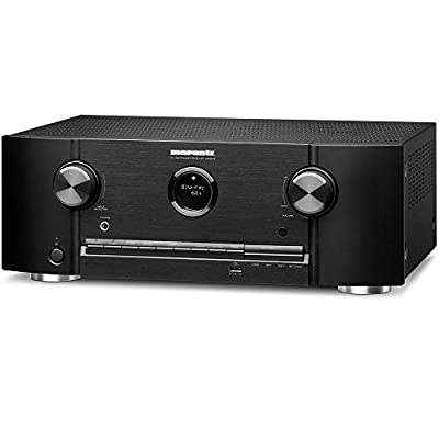 Marantz 8K Ultra HD AV Receiver SR5015 - 7.2 Channel (2020 Model) - Dolby Virtual Height Elevation with Built-in HEOS and Amazon Alexa Compatibility - Bluetooth Wireless Streaming & Home Automation