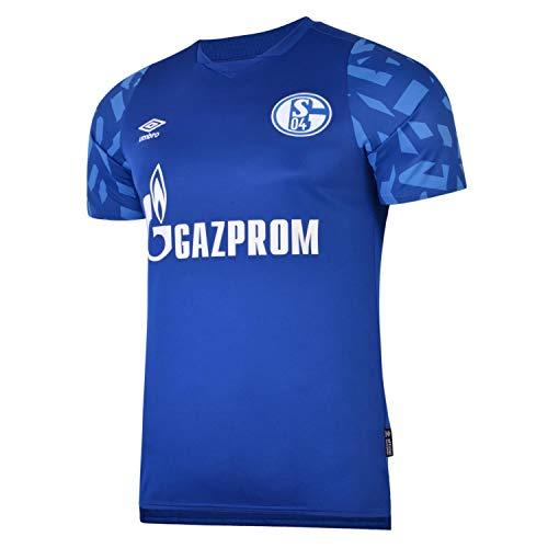 Umbro FC Schalke 04 Trikot Home 2019/2020 Kinder blau/weiß, L