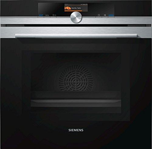 Siemens HM676G0S6 iQ700 Einbau-Elektro-Backofen mit Mikrowelle / Edelstahl / A+ / WLAN-fähig mit Home Connect / activeClean Selbstreinigungs-Automatik / varioSpeed / cookControl Plus