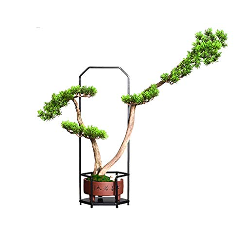 Árboles del Paisaje Artificial árbol de la planta en maceta de Bonsai falso adorno de Home Hotel Jardín regalo de la decoración de hierro forjado Cerámica Artesanía Decoración Plantas Artificiales