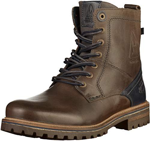 Gaastra Herren Cape HIGH M Biker Boots, Grau (Dark Grey 0300), 43 EU