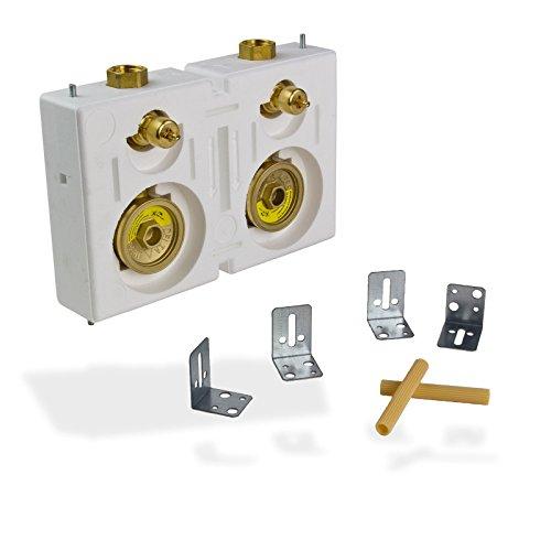 Deltamess 10432 Zähler Wasserzähler Wasseruhr Miniblock Duo 3/4 Zoll IG Messing Monoblock