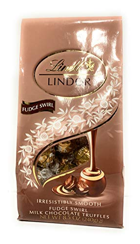 image of Lindt Fudge Swirl Milk Chocolate