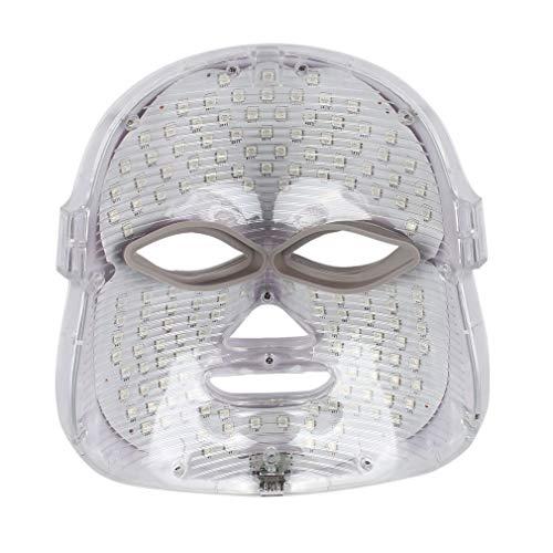 Máscara de Terapia luz LED Máscara facial Led Uso Casero Instrumento de Belleza Anti Acné Rejuvenecimiento de la Piel Led Fotodinámica Belleza Máscara Cara