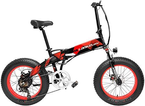 ZTBXQ Sports de Plein air Banlieue vélo de Route Urbain X2000 20 Pouces Gros vélo électrique...