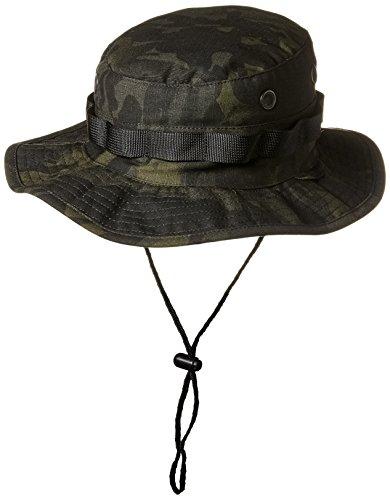 Tru-Spec Boonie, Tru W/P Digital W/Large Bord et Boucles, Homme, Chapeau, 5000, Multicam Noir, M