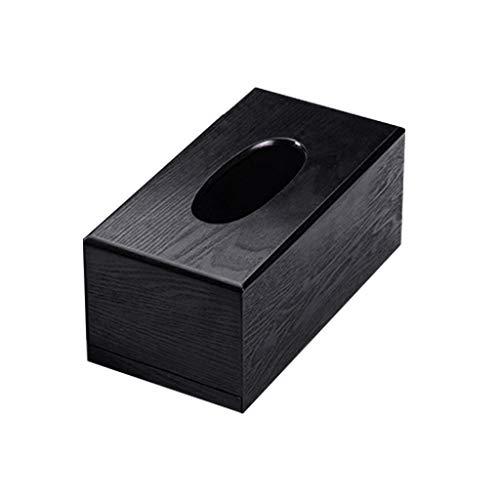 Sulifor Kreative japanische Eigenschaften Holz-Tissue-Box Umwelt Gesundheit Auto-Tablett Stilvolle Liumu Log Aufbewahrungsbox
