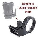 iShoot CNC航空アルミニウムのレンズサポート襟、リング式三脚座、三脚マウントリング, Sony FE 24-240mm f/3.5-6.3 OSS, 24-105mm f/4 G OSS, 16-35mm f/2.8 GM, 24-70mm f/2.8 GM, 35mm f/1.4 ZA, 50mm f/1.4 ZA, 85mm f/1.4 GMのために特別に設計