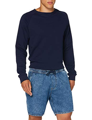 edc by ESPRIT Herren 050CC2C310 Shorts, 902/BLUE MEDIUM WASH, M