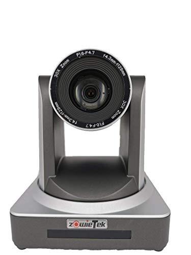 Zowietek PTZ Optics 30X - Telecamera professionale con uscite HDMI e 3G-SDI simultanee - Controllo IP, HD, sistema con zoom ottico