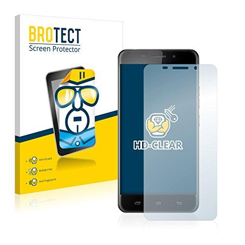 BROTECT Protector Pantalla Compatible con Ulefone Metal Protector Transparente (2 Unidades) Anti-Huellas