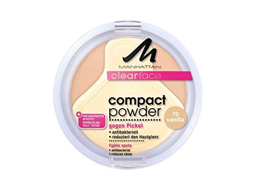 Manhattan CF Compact Powder 70 1er Pack (1 x 9 g)