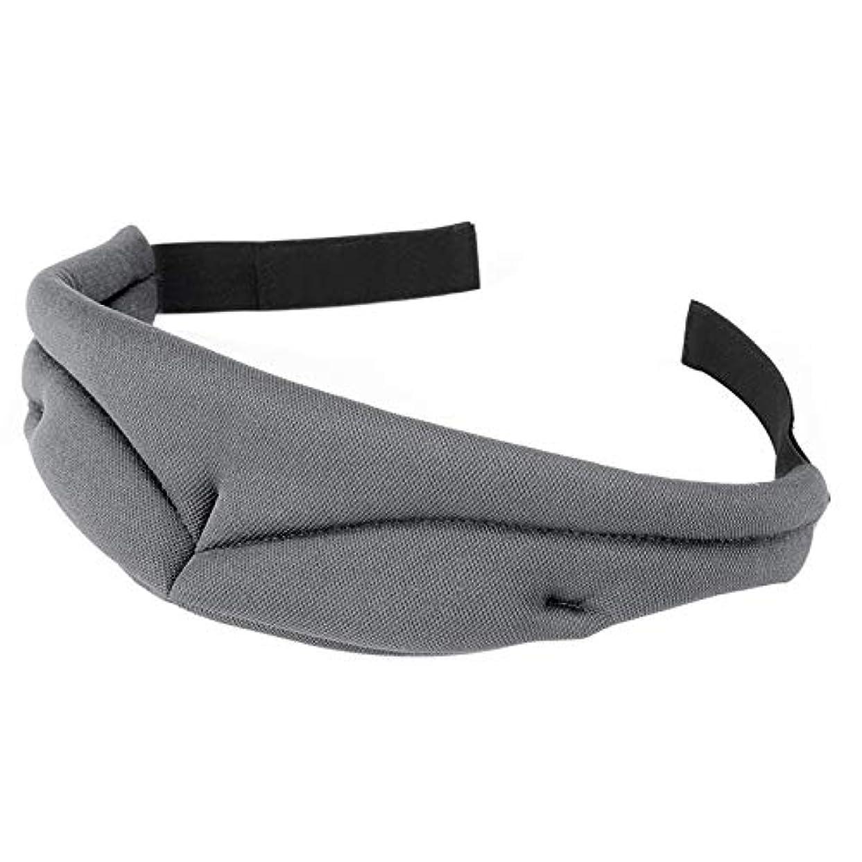 フォアマンピグマリオン日帰り旅行にNOTE 3d超ソフト通気性ファブリックアイシェード睡眠アイマスクポータブル旅行睡眠休息補助アイマスクカバーアイパッチ睡眠マスク