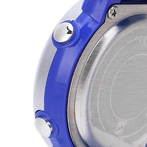 Reloj multifuncional para niños con material de hebilla de acero inoxidable, para niños