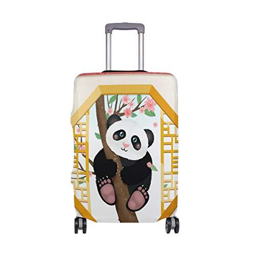 ALINLO Lindo Cartoon Panda Maleta Equipaje Protector De Viaje Para 45-32 Pulgadas