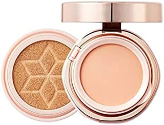 [30% Sale+Gift] AHC Perfect Dual Cover Cushion Glam Pink SPF50+/PA+++ (Foundation Cushion+Pink Balm) (21)