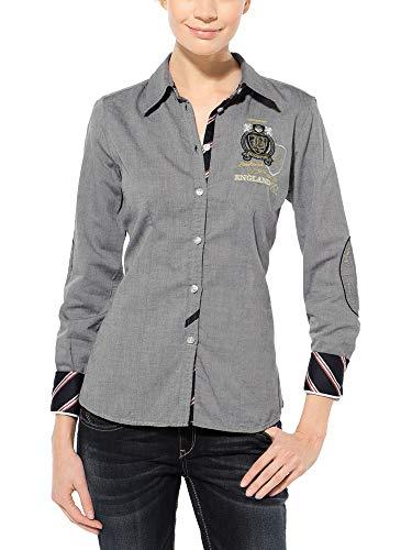 SOCCX Damen Bluse aus Baumwolle