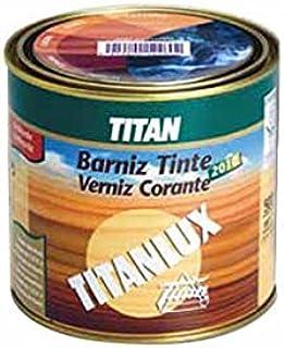Titan M103624 - Barniz tinte 2010 500ml nogal 100312: Amazon ...