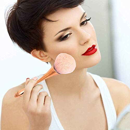 BEAUTYBIGBANG 2021 Pinceau Fond de Teint Professionnel Pinceau à Poudre pour Maquillage Polissage, Pointillé, Anticernes
