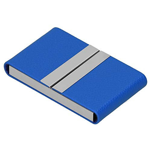 Estuche Para Tarjetas De Visita, Estuche Para Tarjetas De Presentación Bolsillo Para Portatarjetas De Presentación Para Hombres Para Amigos(azul, 400#)