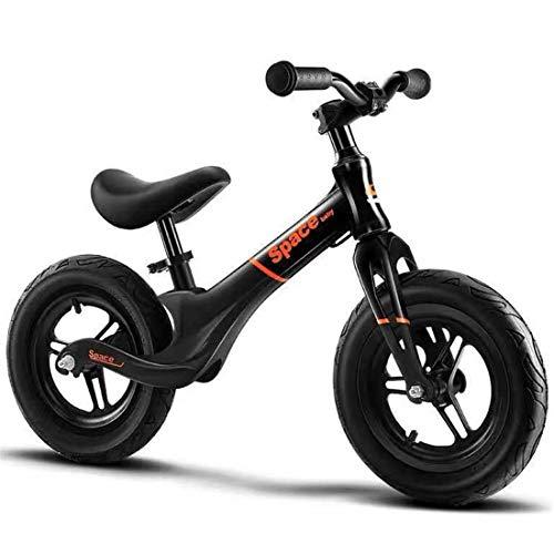 Dsrgwe Vélo Bébé Draisienne,Vélo d'équilibre, Draisienne, 12' Enfants Strider vélo, Cadre en...