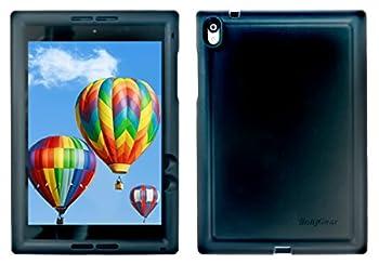 BobjGear Bobj Rugged Case for Nexus 9 Tablet Custom Fit - Patented Venting - Sound Amplification - BobjBounces Kid Friendly - 5 Year Manufacturer Warranty  Bold Black