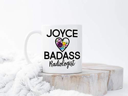 Taza de radiología personalizada, regalo técnico de radiología, Rad Tech, Técnico de rayos X, regalo de Navidad para radiólogo, taza de té o café