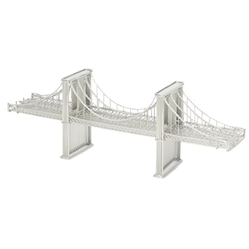 Brooklyn Bridge Wire Model, Design Ideas Doodles, Brooklyn Bridge Replica Statue of New York City (14 Inches)