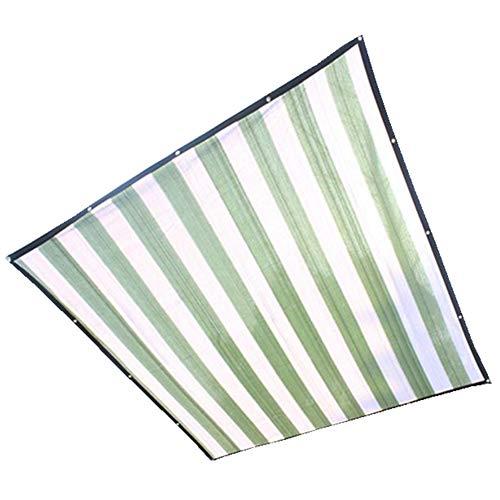 LSXIAO-Sichtschutznetz Sonnensegel Beschattungsnetz Sonnenschutz Markise Pflanzenschutz Draussen Garten Terrasse Partyausstattung, 24 Größen (Farbe : Grün, größe : 4x8m)