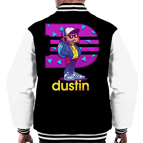 Cloud City 7 Dustin Sportswear Cartoon Stranger Things Men's Varsity Jacket