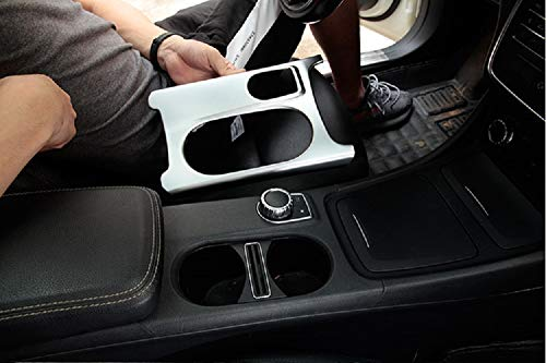 Tianrui Crown For Merceds Bez W205 C Class C-Class 2015-2018 Car Accessories ABS Chrome Rear Air Conditioning Vent Cover Trim 1pcs