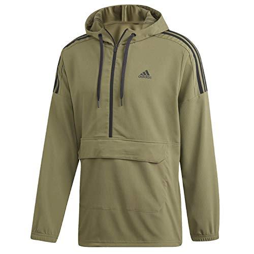 adidas Sport Id Anorak Jacket Dq1477rawkhaki/Black M