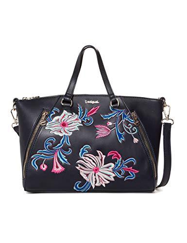 Desigual Bag Orangina Piadena Women - Borsette da polso Donna, Blu (Navy), 10x23.8x29.8 cm (B x H T)