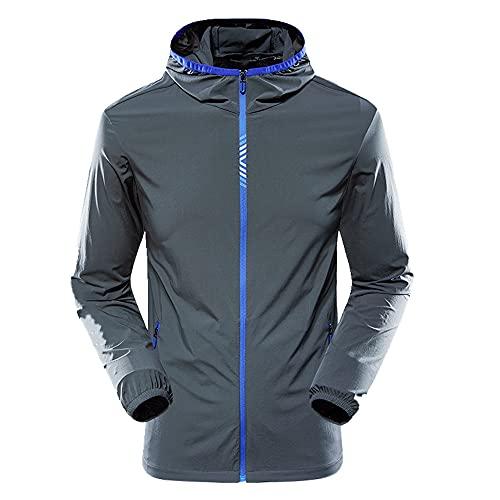 hombres verano todo partido protección solar ropa deportes al aire libre ciclismo chaqueta