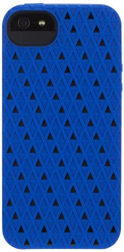 Griffin Flexigrip Punch-Custodia per iPhone 5, colore: blu