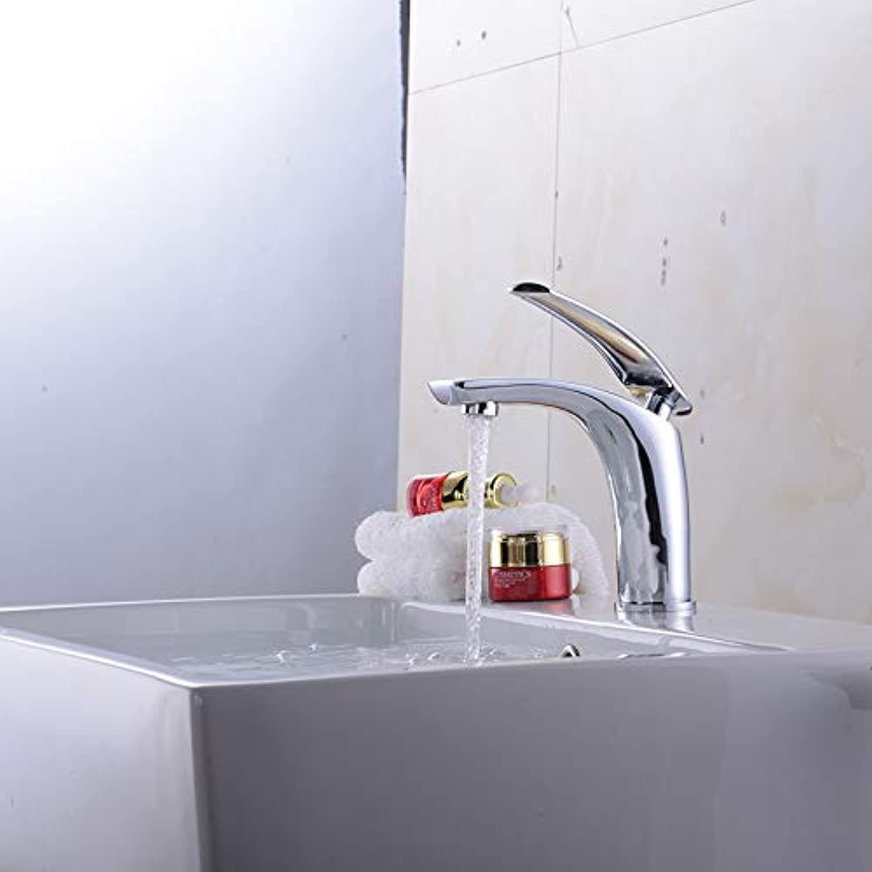 LHbox Bad Armatur in Bad für Waschbecken Waschtisch Wasserhahn Waschtischarmatur Das Kupfer Kalt Wasserhahn, Bunte Waschbecken, Badezimmer Waschbecken Armaturen,
