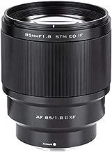 Full Frame Prime Lens VILTROX 85mm F1.8 Mark II STM Auto-Focus Large Aperture Portrait Lens for Fuji X-Mount Camera X-T3 X-T2 X-T30 X-T20 X-T10 X-T100 X-PRO2 X-E3 X-A20 X-A5