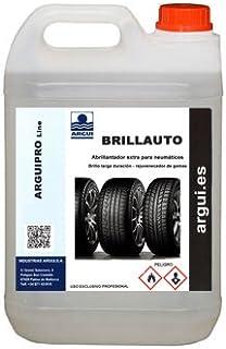 ARGUIPRO Line BRILLAUTO 2 litros. Abrillantador, renovador de neumáticos y plásticos de Interior y Exteriores. Abrillanta y nutre la Piel y Polipiel.