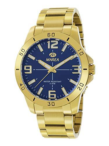 Reloj Marea Analógico para Hombre B54126/5 Dorado con Armis de Acero
