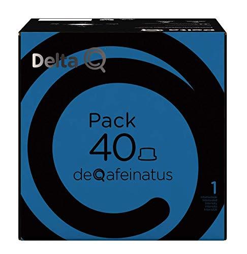Delta Q - Pack 40 deQafeinatus - 40 Cápsulas de Café - Descafeinado