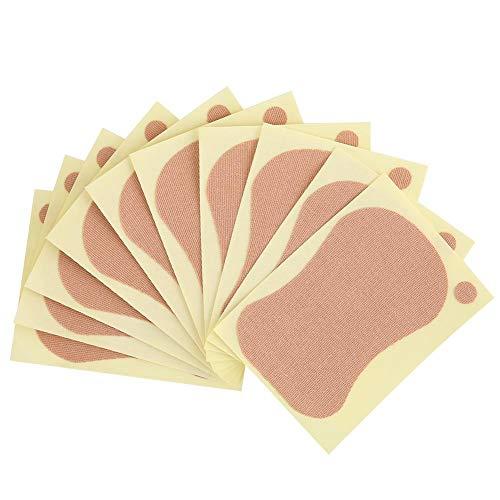 Sous-aisselles, 10 pcs 9 x 6,5 cm Déodorant Aisselle Patch Unisexe Absorbant La Sueur Sous Les Aisselles Pad pour Hommes et Femmes Confortable