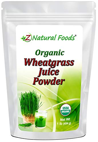 Organic Wheatgrass Juice Powder - Ultra Concentrated Green Nutrition - Incredible Superfood for Shots, Smoothies, Shakes, & Recipes - Boost Energy & Vitality - Raw, Non GMO, Vegan, & Kosher - 1 lb